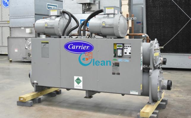 Chiller Carrier trục vít giải nhiệt nước