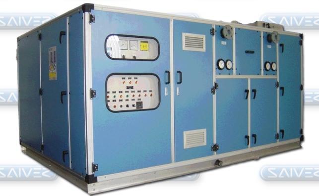 AHU Saiver, AHU - Bộ xử lý không khí