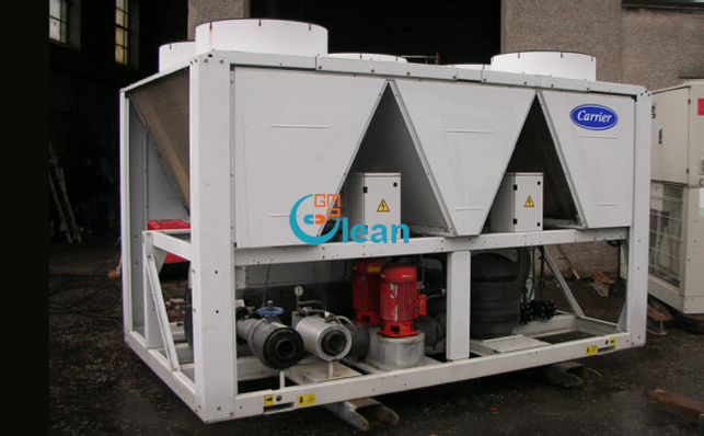 Carrier scroll chiller 4
