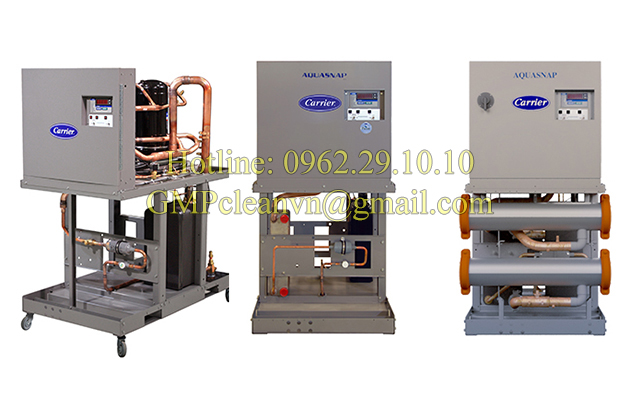 Chiller Carrier xoắn ốc giải nhiệt nước, hvac systems