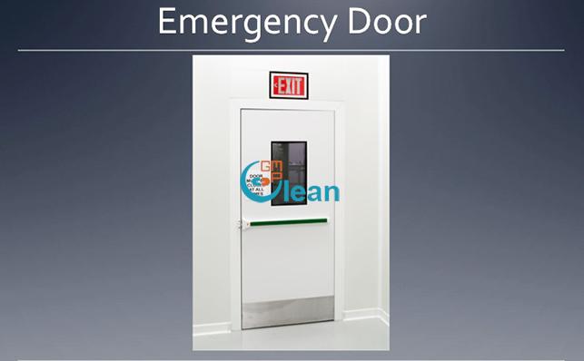 Cửa Exit PU, exit door Panel